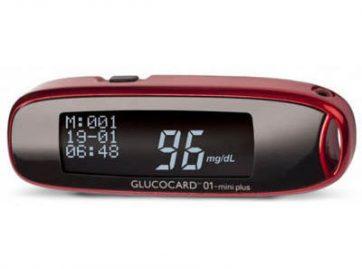 glukometr glucocard 01 mini plus