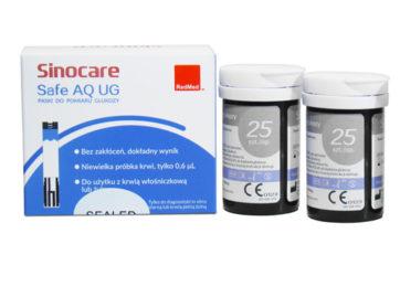 Testy Glukozy Safe AQ UG